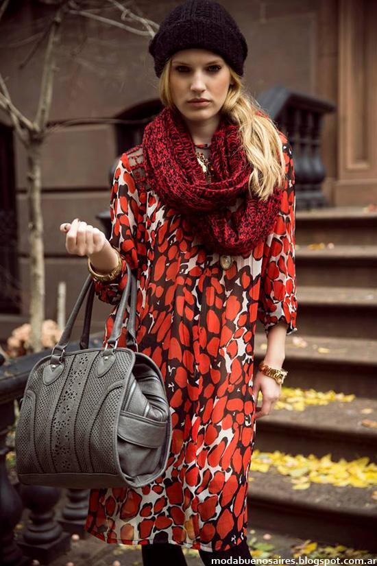 Vestidos casuales 2014 otoño invierno 2014 colección India Style
