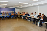CBF promove encontro com as forças de segurança do município