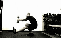 weighted pistol, squat progression