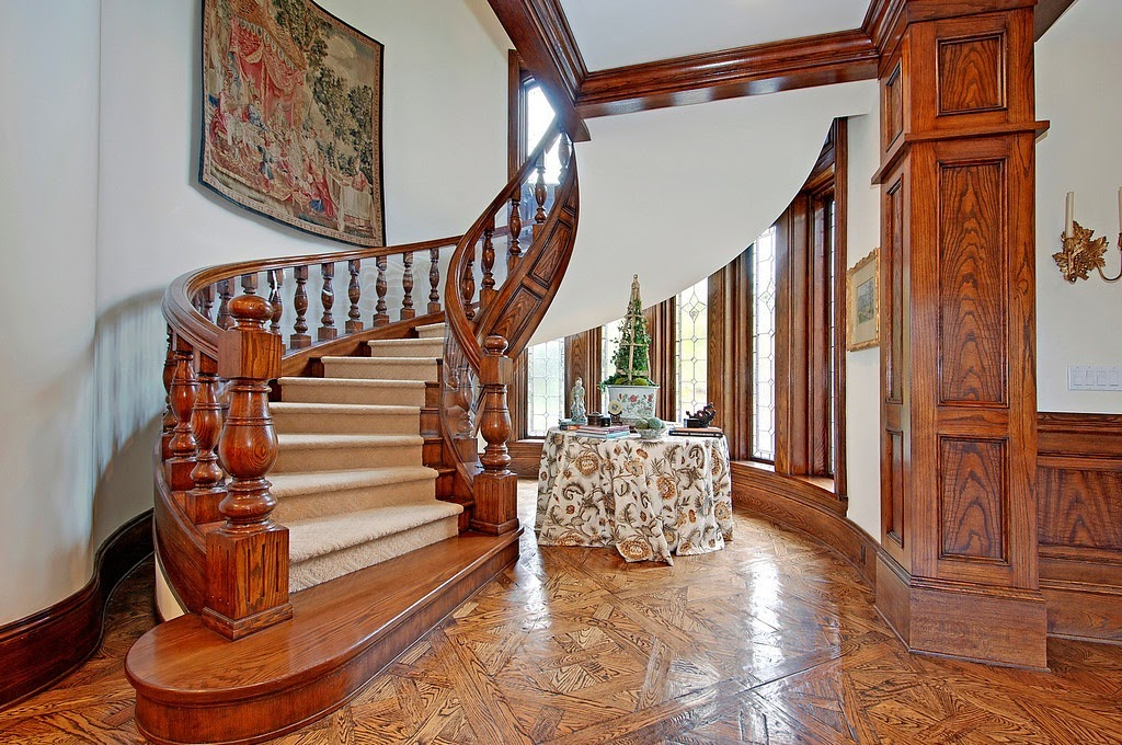 Old Mansion Foyer : Victorian gothic interior style