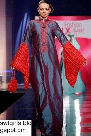 دراعات و أزياء كويتية تجنن دراعات و فساتين .