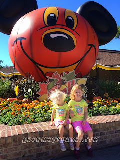 Fall at Downtown Disney, Pumpkin Mickey