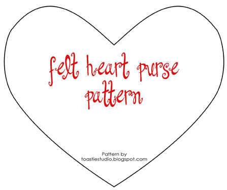 Heart Shapes To Print Out Small heart cut out pattern