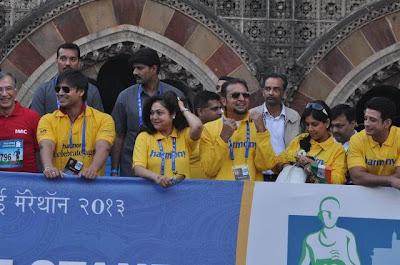 Bollywood - Standard Chartered Mumbai Marathon 2013