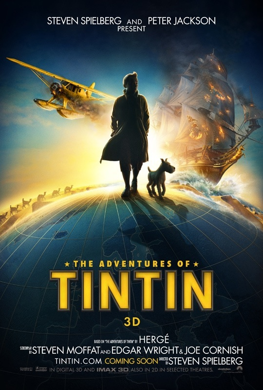 Writer's Bloc...: The Tintin movie experience