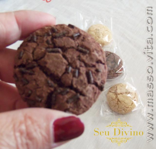 Biscoitos sem glúten e sem lactose