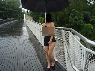 Kontroversi Gadis Gambar Bogel Depan Semua Landmark Di Singapura