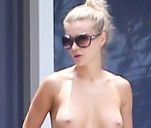 Joanna Krupa Topless Miami