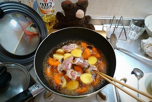 鶏じゃがの作り方(2)