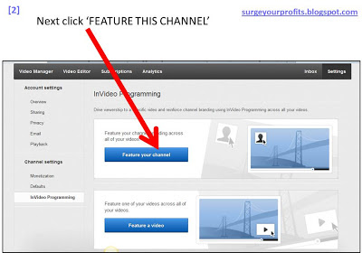 2 - Branding your channel on Youtube - www.surgeyourprofits.blogspot.com