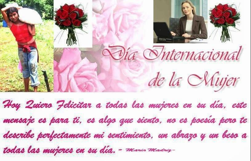 Frases De Feliz Día Internacional De La Mujer: Hoy Quiero Felicitar