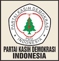 Logo/ Lambang Partai Kasih Demokrasi Indonesia- PKDI