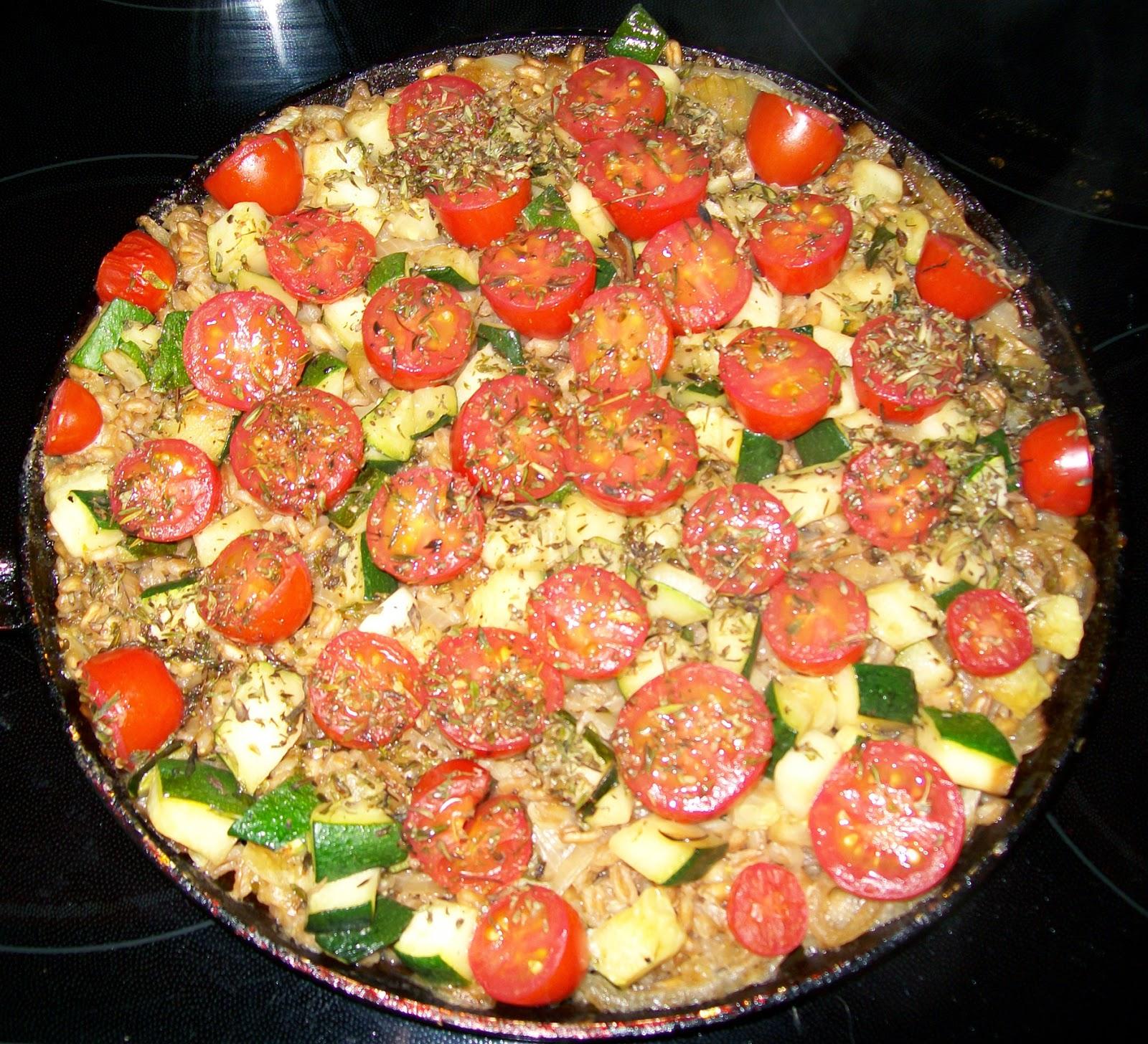 rezept vegan dinkel-gemüse hauptspeise