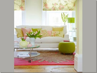 Almofada decorativa cores complementares