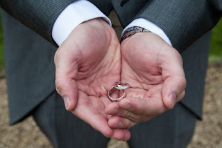 Bestman with wedding rings