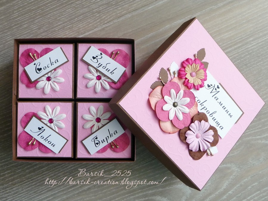 мамина сокровищница для девочки, подарок для младенца