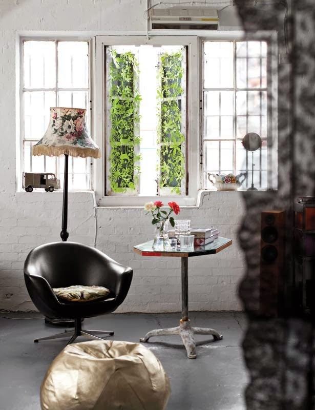Cool Chic Style Attitude: Decor inspiration : a london loft.