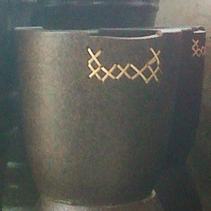 Pot Kancing Bambu - Rp 40.000