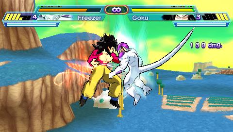 Dragon Ball Z: Shin Budokai Another Road (Juegos 2014)