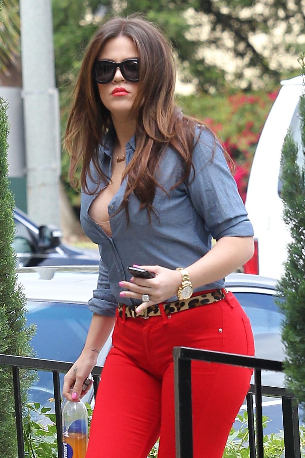 khloe kardashian video hot