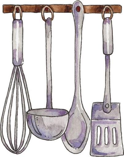 dibujos de cosas de cocina imagenes y dibujos para imprimir