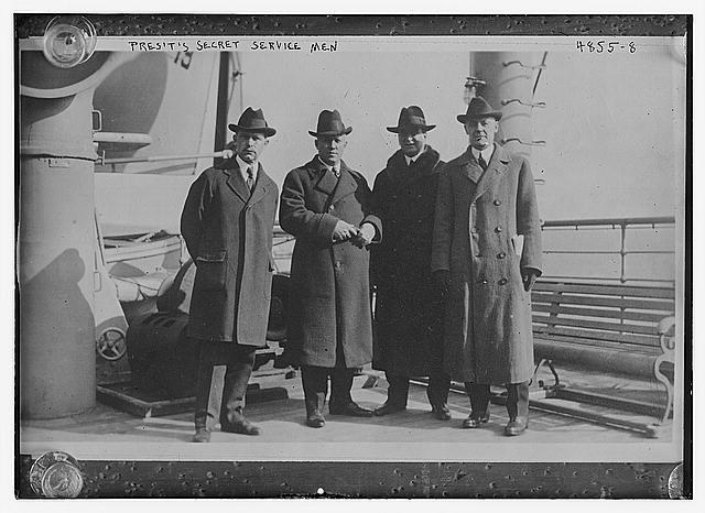President's Secret Service Men 1910