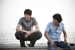 Kang Ho-Sang and Dong-won Kang in a still from 'Secret Union'