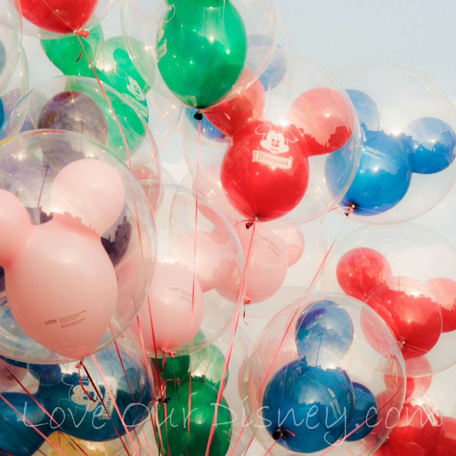 23 Disneyland Tips everyone can use. Two awesome Balloon tips included. LoveOurDisney.com