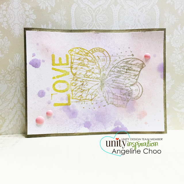 ScrappyScrappy: Multi coloring stamping #scrappyscrappy #unitystampco #youtube #video #card