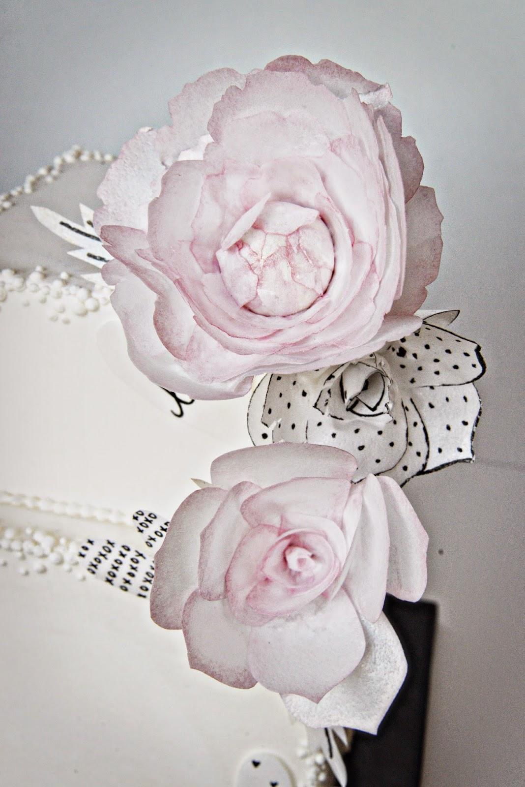 Cake Happens Wafer Paper Flowersd Love Notes