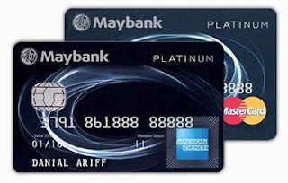 Maybankard 2 Platinum Cards