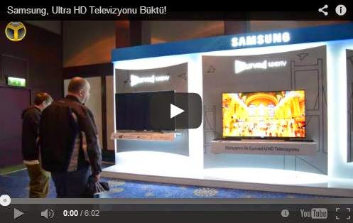 Samsung Curved (Kavisli) TV İnceleme