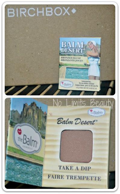 Birchbox Agosto 2015 - Dessert Bronzer/Blush de The Balm