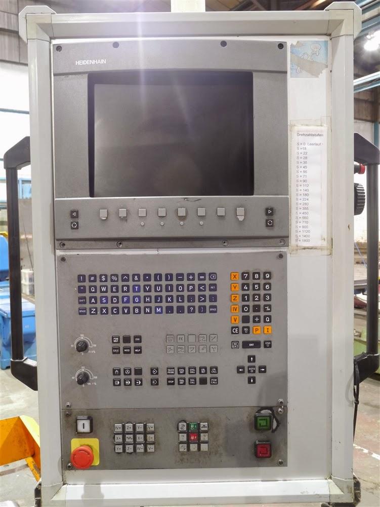 Boko CNC vertical milling machine control
