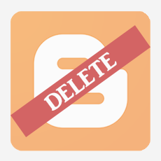 delete a blogger blog permanently