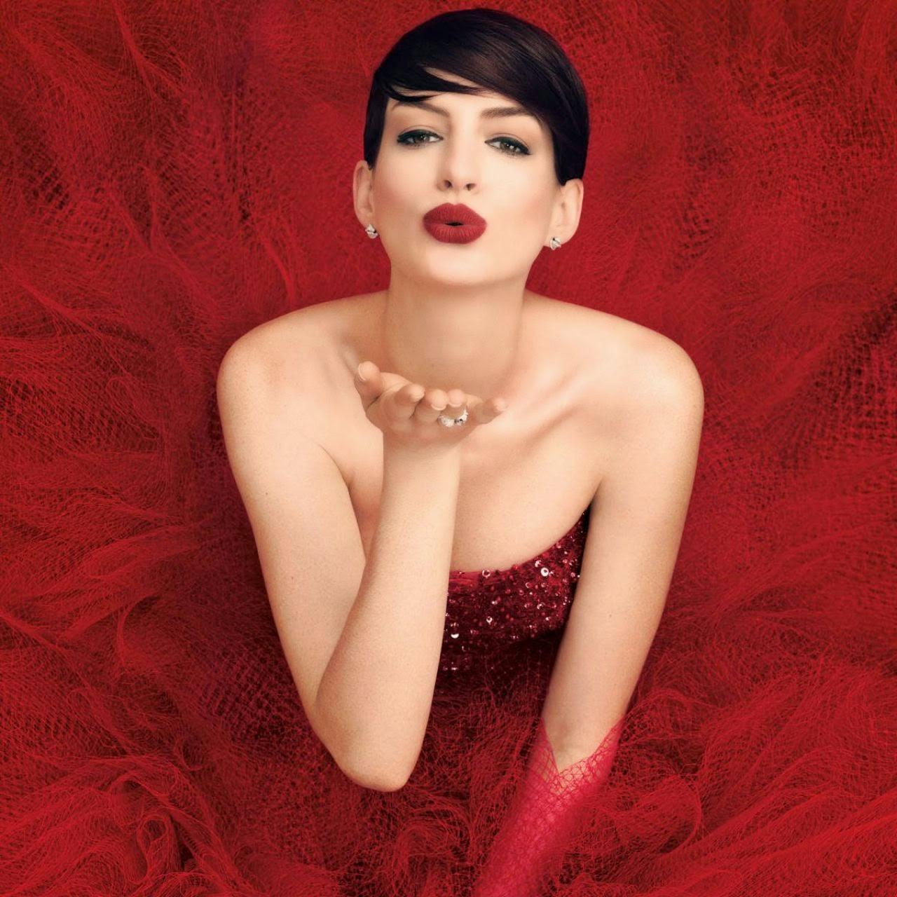Anne Hathaway – Harper's Bazaar Magazine November 2014 Issue