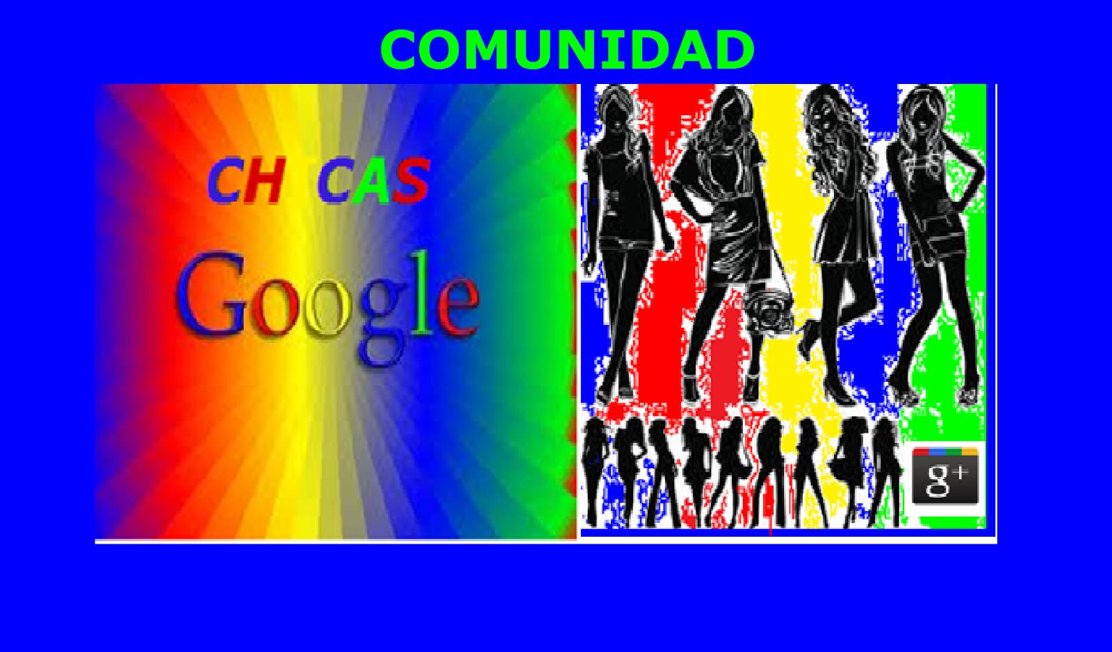 UNETE A LA COMUNIDAD CHICAS GOOGLE
