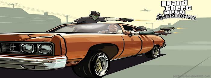 Imagen del juego GTA san andres,puedes poner esta imagen como portada de tu biografia en facebook