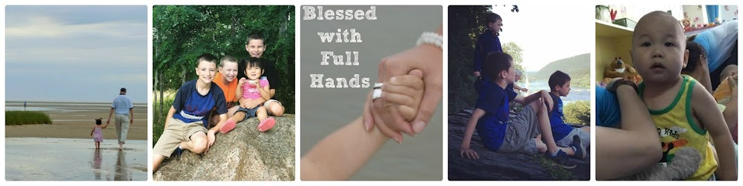 Blessed with Full hands