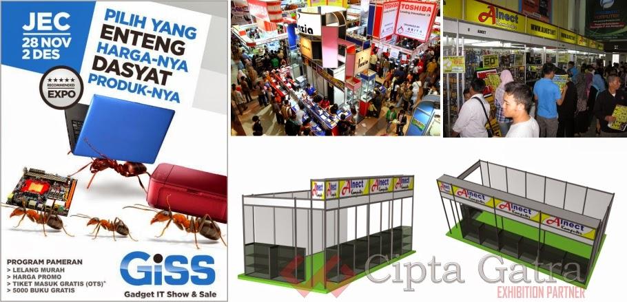 Kontraktor Pameran - Exhibition Partner - booth stand
