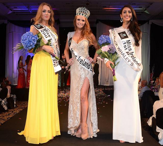 Miss Ireland World 2013 winner Aiofe Rose Walsh