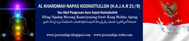 TABLOID JAVA INDIGO - AL KHAROMAH NAPAS KODRATTULLOH