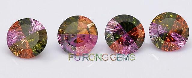 Millennium-cut-cubic-zirconia-Round-stone-In-mixed-color-zirconia-China-wholesale