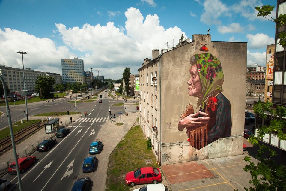 Etam Cru New Mural In Lodz Poland Streetartnews