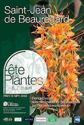 FETE DES PLANTES DE PRINTEMPS AU CHATEAU DE SAINT JEAN DE BEAUREGARD 6,7,8 AVRIL.