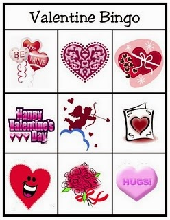 Free And Printable Valentineu0027s Day Bingo Cards For Kids 2
