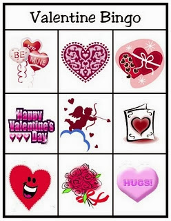 Free and Printable Valentine's Day Bingo Cards For Kids 2