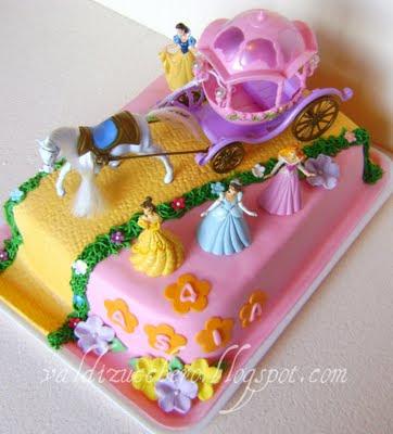 Cake Design Principesse Disney : Val di zucchero: Principesse Disney (variazione sul tema)