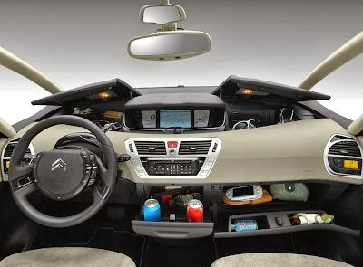 Interior de Citroen C4 Picasso