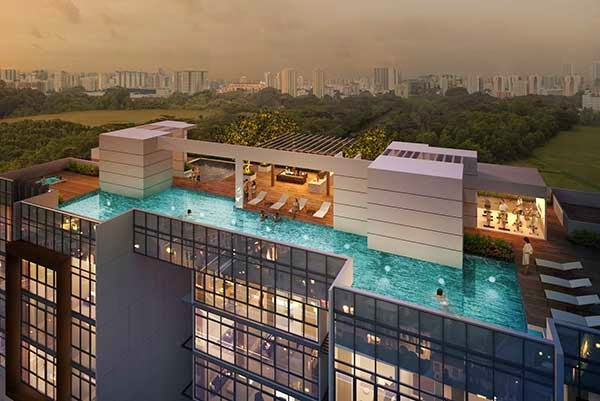 The Citron Residences Pool